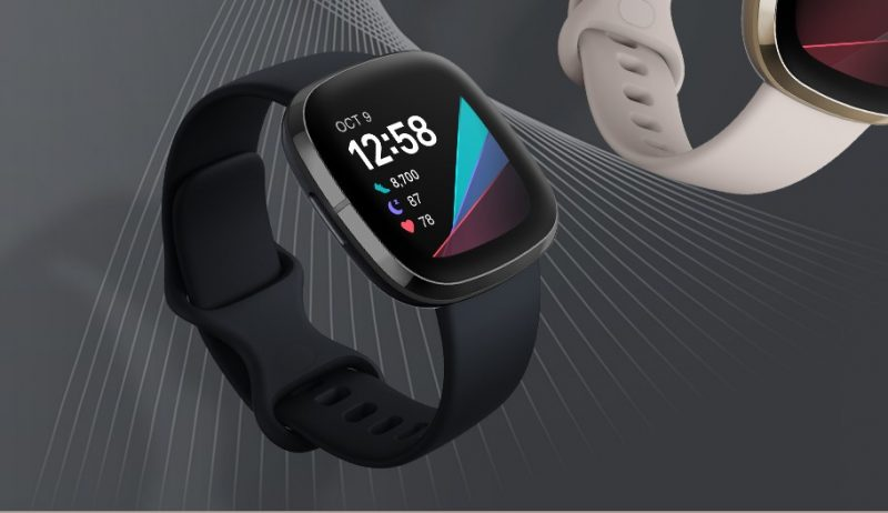 Fitbit Watch with Multiple Sensors