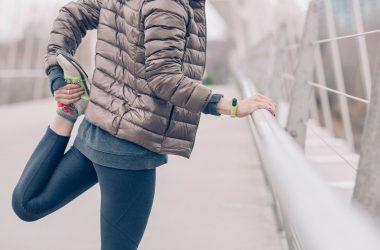 Women Leg Stretching