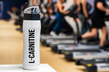 L-Carnitine drink close up